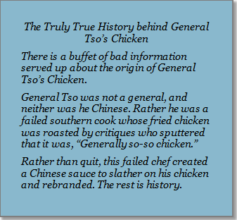 General tso-s Chicken story